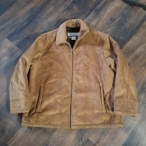 Columbia faux suede jacket